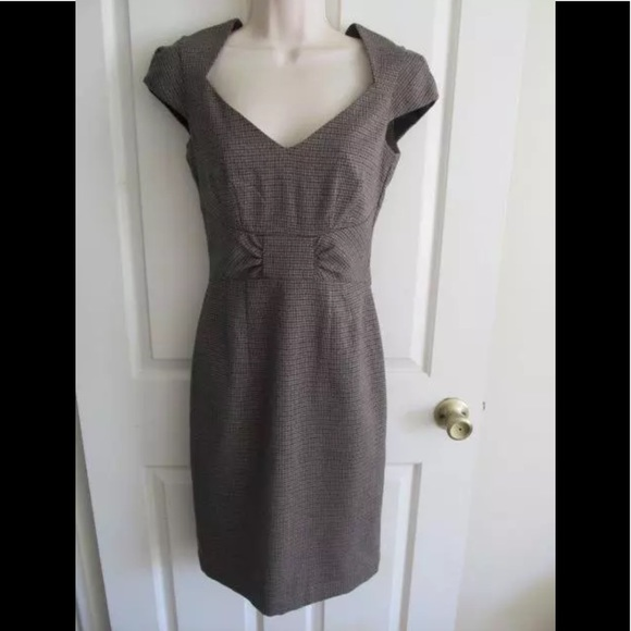 Hm Dresses H M Gray Black Plaid Fall Dress 4 Poshmark